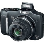 Canon PowerShot SX160 IS 16MP Digital Camera – $79 w/Free Shipping!