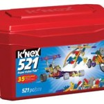 K'NEX 521 Piece Value Tub For $10