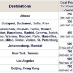 50% Discount on Economy Class ELAL Matmid Award Tickets – Multiple Destinations