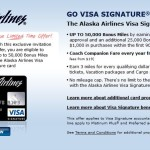 50,000 Bonus Points On Alaska Air Credit Card + What They Are Good For