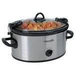 Stainless Steel Cook' N Carry 6-Quart Oval Crock-Pot – $23.99!