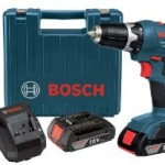 Bosch 18-Volt Cordless Drill/Driver Kit with 2 Batteries, Charger and Case For Just $79.20 Shipped!