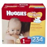 Huggies Little Snugglers Size 1 Diapers, 234 Count – $30.66 Shipped!