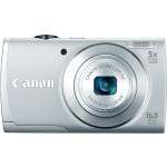 Lightning Deal – Canon PowerShot A2600 IS 16.0 MP Digital Camera – $69 w/Free Shipping!
