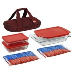Pyrex Portable Travel Set For $30.30 w/Free Shipping