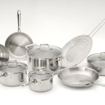 Emeril PRO-CLAD Tri-Ply Stainless Steel 12-Piece Cookware Set – $169.99