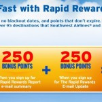 2,500 FREE Southwest Points for New Members