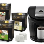 Keurig Vue V600 Bundle with Brewer, Water-Filter Starter Kit, and 58 Assorted V-Cups. For Just $119.99 shipped!