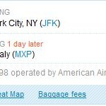SIZZLING! HURRY! USA-Europe Glitch Tickets!!  Italy For $133 Round Trip – $42 One Way,  and others!!