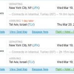 New York – Tel Aviv For As Low As $699 Round-Trip in March