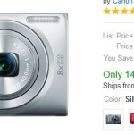 Canon PowerShot ELPH 130 IS 16.0 MP Digital Camera – $69 Shipped!!