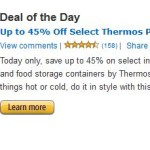 Gold Box Deal of the Day: Up to 71% Off Select Thermos Products