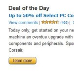 Gold Box Deal of the Day: Up to 70% Off Select PC Components, Monitors and Peripherals