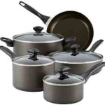 Farberware Aluminum Nonstick 12-Piece Cookware Set – $47.19