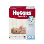 Case Of Huggies Diapers For As Low As $33.75 Shipped!