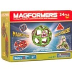 Magformers Magnetic 34 Piece Building Set – $29.99!