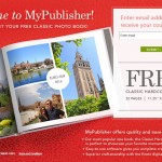 FREE 20-Page Custom Classic Hardcover Photo Book from MyPublisher!