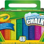 Crayola 48 Count Sidewalk Chalk For Only $3.50! (Add On Item)