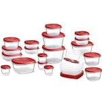 Rubbermaid 42-Piece Easy Find Lid Food Storage Set For $15.99!
