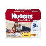 Case of Huggies Simply Clean Baby Wipes For As Low As $8.17 Shipped!