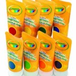 Crayola Fingerpaints Bold and Secondary Colors, 8-Count – $12.99!
