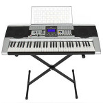 Electronic Piano Keyboard 61 Key Music Key Board Piano With X Stand Heavy Duty – $69.95 w/Free Shipping!