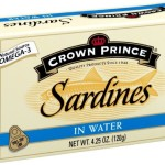 Crown Prince Sardines, 4.25-Ounce Cans (Pack of 12) $10.84-$13.56 w/Free Delivery!