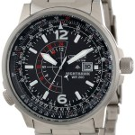 """Citizen Men's """"Nighthawk"""" Stainless Steel Eco-Drive Watch For Just $154.84-$193.55 w/Free Shipping & Free Returns!"""