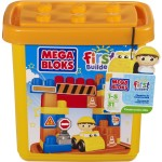 Mega Bloks First Builders Small Construction Site (Tub) – $13.39!