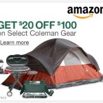 Extra $20 Off Coleman Grills, Air-Beds & Other Coleman Camping Gear On Amazon