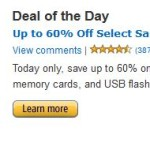 Gold Box Deal: Up To 79% Off Select SanDisk SD Cards, Flash Drives & Other Memory Products!
