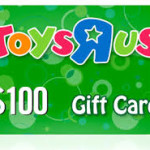 $100 Toys R' Us Gift Cards For $85!