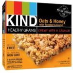 KIND Healthy Grains Granola Bars, Oats & Honey with Toasted Coconut or Vanilla Blueberry, 5 Count (Pack of 3) As Low As $5.60 Shipped!