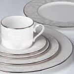 Organdy 5-piece Dinnerware Place Setting by Lenox On Sale Today For $79.95 (Was $186) + 40¢ Shipping On All Orders Sitewide