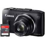 Ends Tonight – Canon PowerShot 12.1MP SX280HS Digital Camera & Free 8GB Memory Card For $179.99 Shipped!