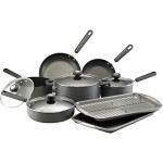 Circulon 13-Piece Hard-Anodized Cookware Set On Sale For Only $89 Shipped!
