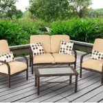 Cadence Wicker 4-Piece Patio Conversation Set On Sale For $199 + Free Shipping!