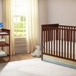 Delta Crib, Cherry with BONUS Changing Table For $129.98 w/Free Shipping!