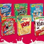 2-21 Ounce Boxes of Kellogs Cereal For $3.88!