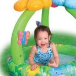 Intex Recreation Jungle Flower Baby Pool, Age 1-3 – $6.99