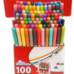 RoseArt SuperTip Washable Markers, 100 Assorted Colors For $15.79!