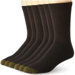 6-Pack of Gold Toe Men's Cotton Crew Socks For $10.39!
