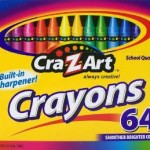 8 Jumbo Crayons For $0.67 – 64 Crayons For $1.67 – 10 Bold Washable Markers For $1.97!