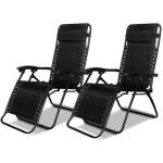 2 Zero Gravity Patio Lounge Chairs for $69.99 Delivered!