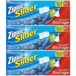 4 Cases (12-Packs) of Ziploc Slider Storage Bags For Just $8-$9.52 Per 3-Pack Delivered!