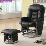 Wildon Home Vanceboro Recliner and Ottoman – $264.99 w/Free 2-Day Delivery