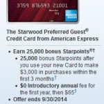 SPG Cards With Lower Minimum Spend Requirements