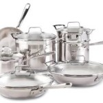 12-Piece Emeril by All-Clad Chef's Stainless Steel Dishwasher Safe Cookware Set For $129.99!