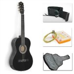 New Beginners Acoustic Guitar With Guitar Case For $24.99 w/Free Shipping