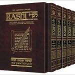Artscroll Full Size 5 Volume Sapirstein Edition Rashi Chumash For $98.68 w/Free Shipping